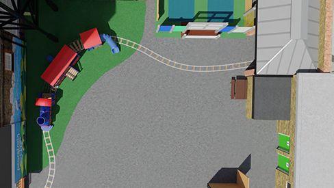 Aerial View - Playground UK