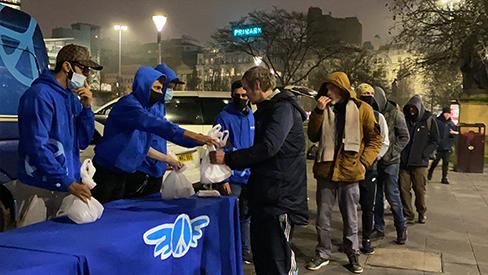 Weekly Homeless Feeding - UK