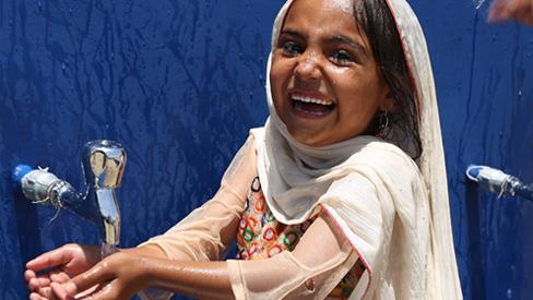 Safe clean drinking water - Tharparkar - Pakistan