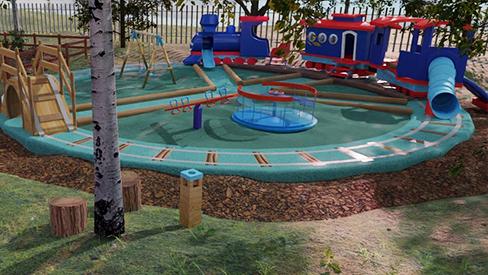 Playground design - Heiderveld - South Africa