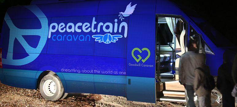 Peace Train Caravan - Greece