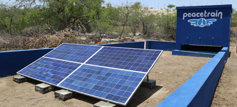 Newly installed Solar-well - Pakistan