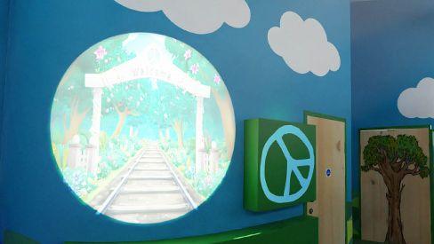 Wall Projection - Barnados UK