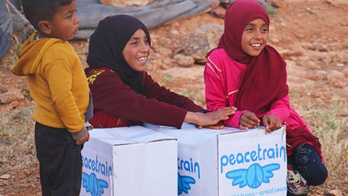 Feeding Programme - Syrian Refugees