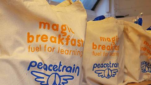 Partnering with Magic Breakfast